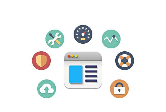 diversos serviços como backup ou otimização WordPress